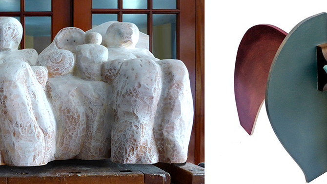 Julie Maynard, Joanna Morrison Exhibiting Sculptures at Bridge Gallery