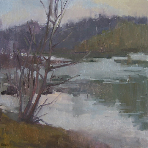 "Marie Riccio ""River Early Spring"""