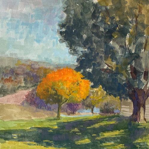 """Marie Riccio """"Autumn Orange"""""""