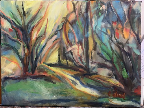 """Christina Lund """"Light in the Trees"""""""