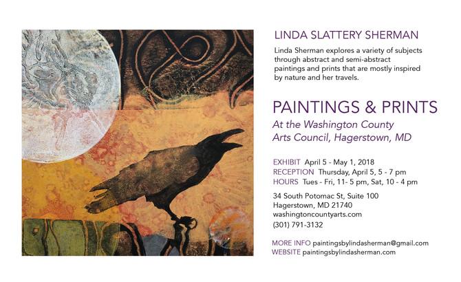 Linda Sherman to exhibit in Hagerstown