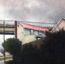 Nathaniel Williams Under the Bridge Oil $400