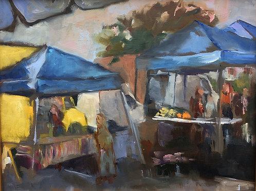 "Karen Winston-Levin ""Sunday Market"""