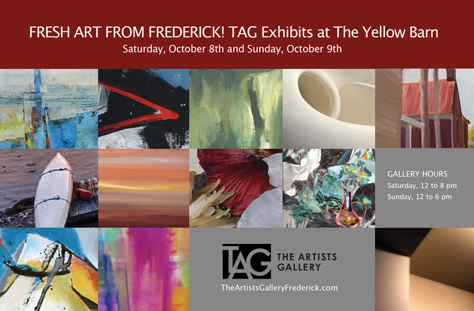 Fresh Art from Frederick! TAG Exhibits at the Yellow Barn