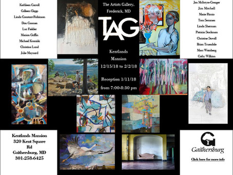TAG Members on exhibit at the Kentlands Mansion