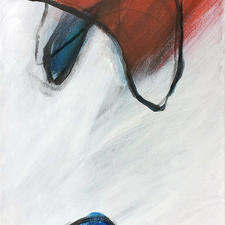 """Brian Walker """"Empire Lost"""" Acrylic $200.00"""