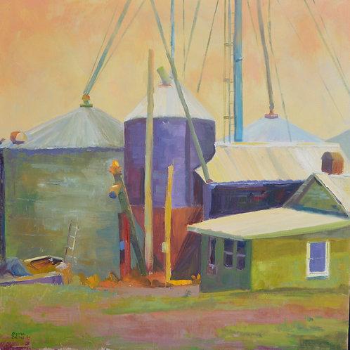 """Gillian Collins """"Dusty Farm"""""""
