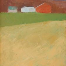 Joan Lee Red Barn, Middletown oil $180