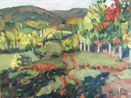 """Christina Lund """"Mountain View at Penterra"""""""