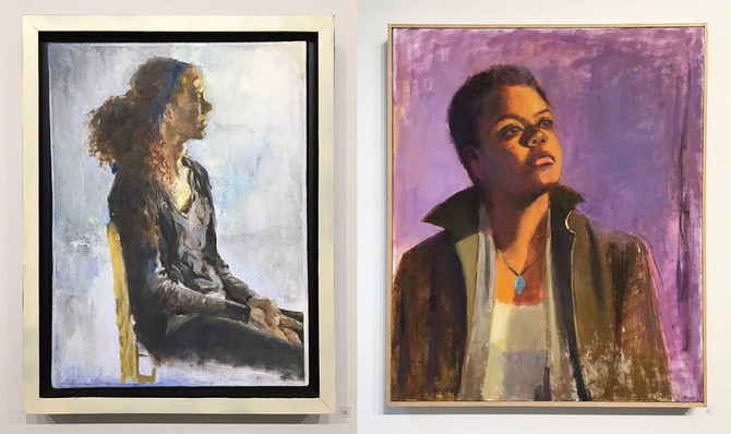 TAG Members in Portrait Show at Hood College