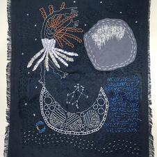 "Elena Saber ""Moon Dreams"" Embroidery $578.00"