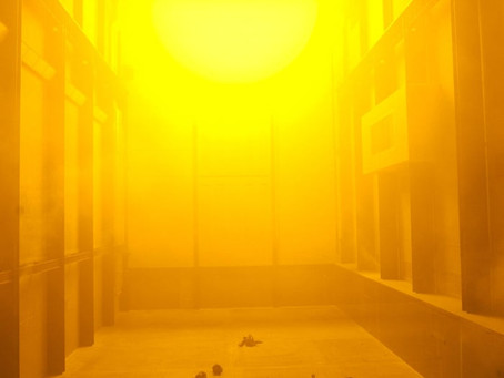 Experience and participation in Olafur Eliasson's The Weather Project
