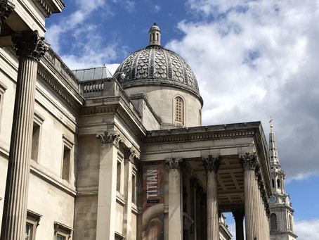 A heathen's pilgrimage to the National Gallery