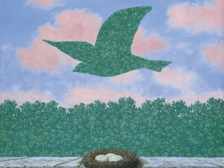 Spring in art part 4: Magritte's mysterious encounters