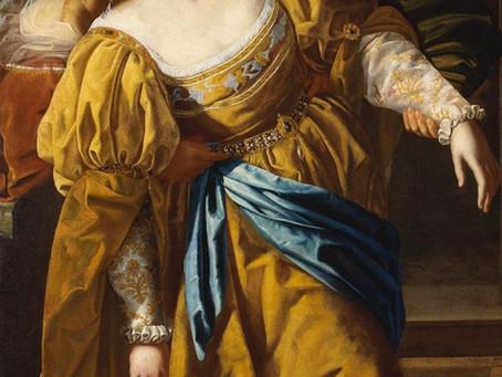 The liberation of Artemisia Gentileschi - National Gallery, London