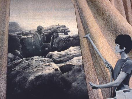 Martha Rosler's iconic photomontages