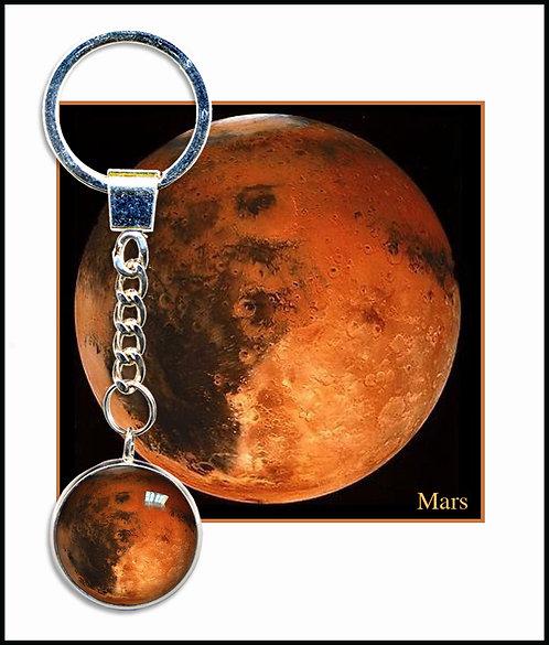 Mars Keyring