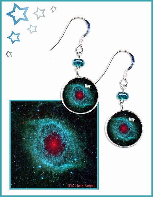 Helix Nebula Earrings