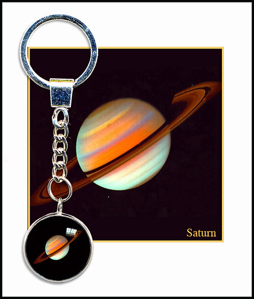 Saturn Keyring