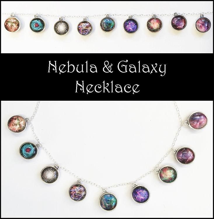 Nebula & Galaxy Pendant