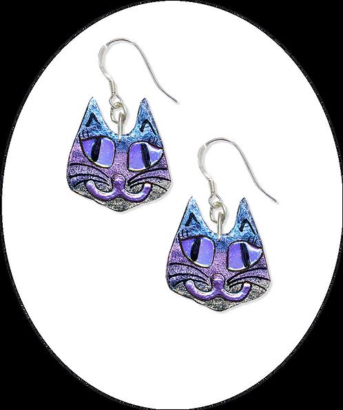 Mad Cat Earrings