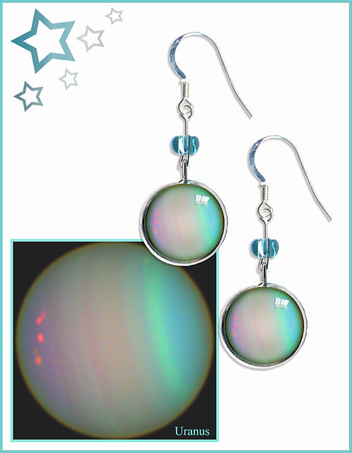 Uranus Earrings
