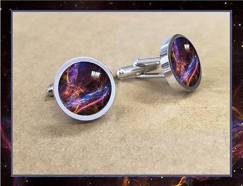 Veil Nebula Cufflinks