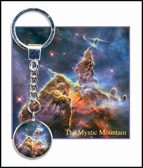 Mystic Mountain Keyring