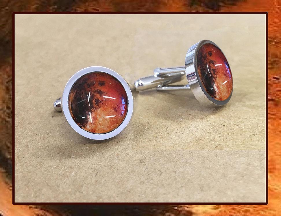 Mars Cufflinks