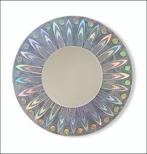 Silver Super Nova Mirror