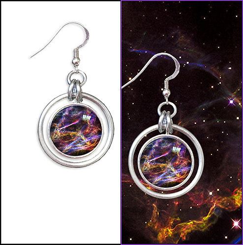 Veil Nebula Earrings