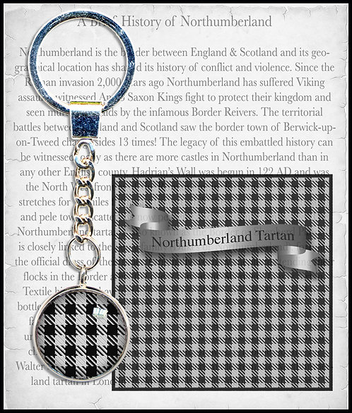 Northumberland Tartan Key Ring
