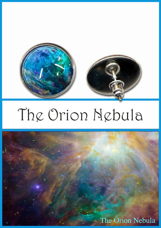 Orion Nebula Studs/Clips