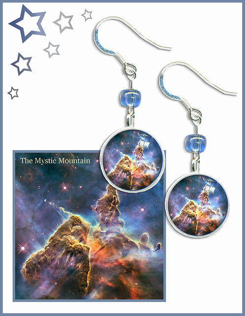 Mystic Mountain drop earrings