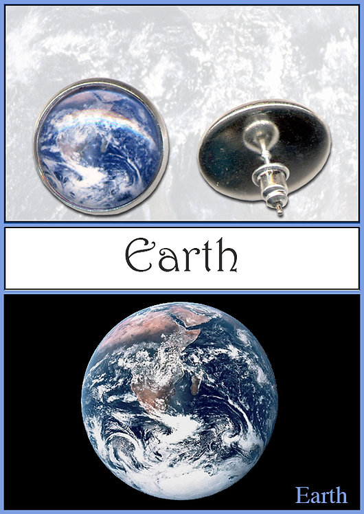 Earth Studs/Clips