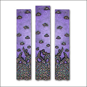 Purple Elemental Panels