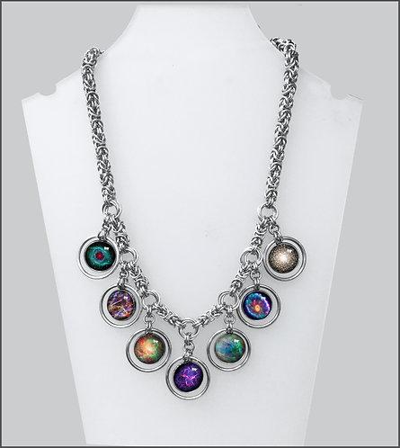 Chainmail Nebula Necklace