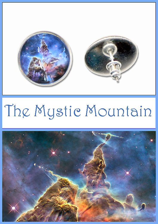 Mystic Mountain Studs/Clip ons