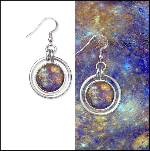 Mercury Hoop Earrings