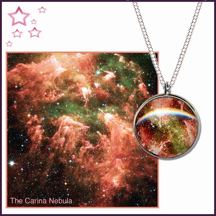Carina Nebula Pendant