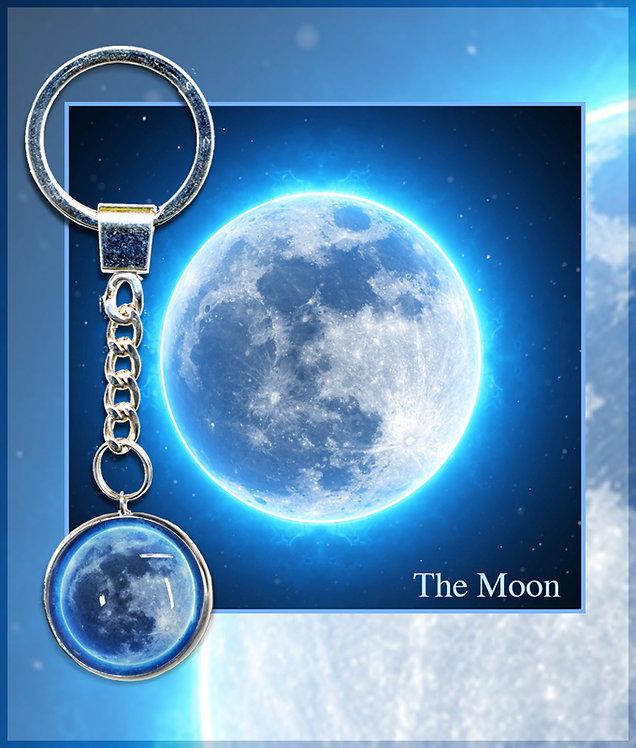 Moon keyring