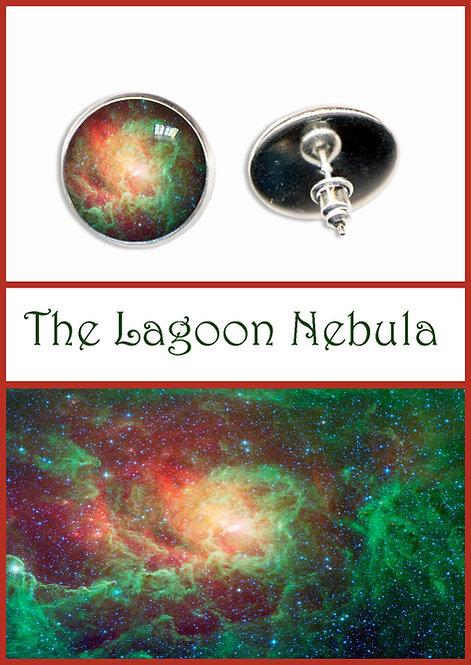 Lagoon Nebula Studs/Clips