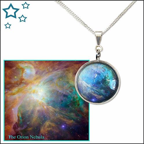 Orion Nebula Pendant
