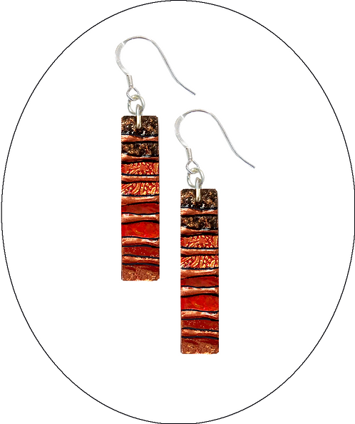 Medium Copper Earrings
