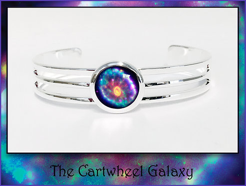 Cartwheel Galaxy Bangle