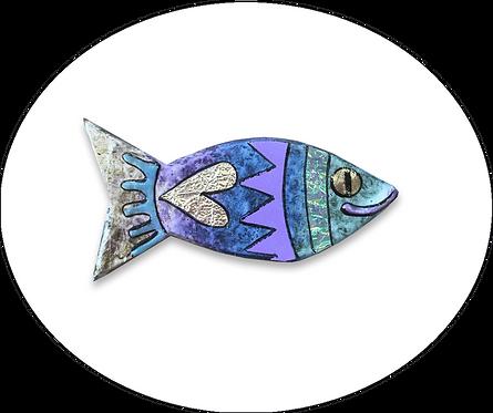 Small Fish Brooch