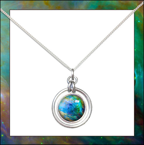 Orion Hoop Pendant and Chain