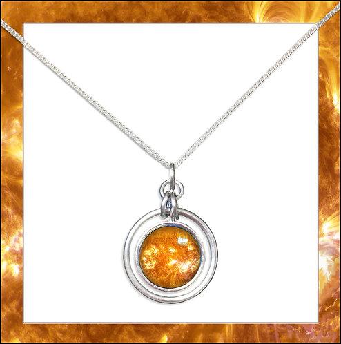 Sun Hoop Pendant