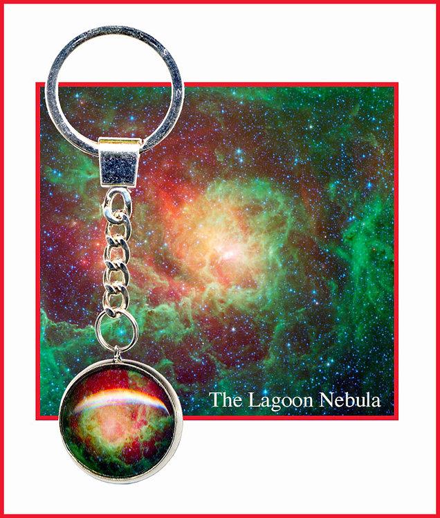 Lagoon Nebula Keyring