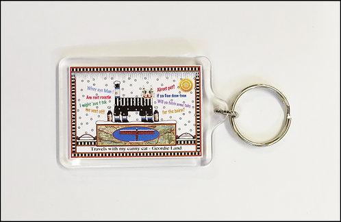 Geordie Key Ring
